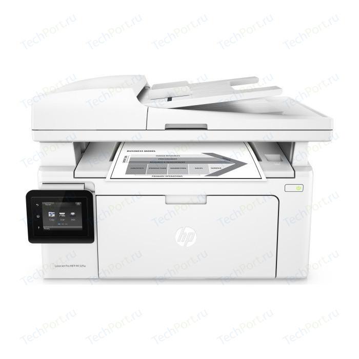 Фото - МФУ HP LaserJet Pro MFP M132fw (G3Q65A) мфу hp color laserjet enterprise 800 mfp m880z a2w75a цветной a3 46ppm факс дуплекс hdd 320гб ethernet usb