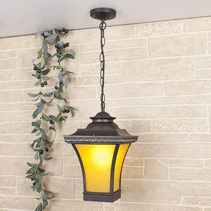 Уличный подвесной светильник Elektrostandard 4690389064760 светильник elektrostandard 4690389150111 glow