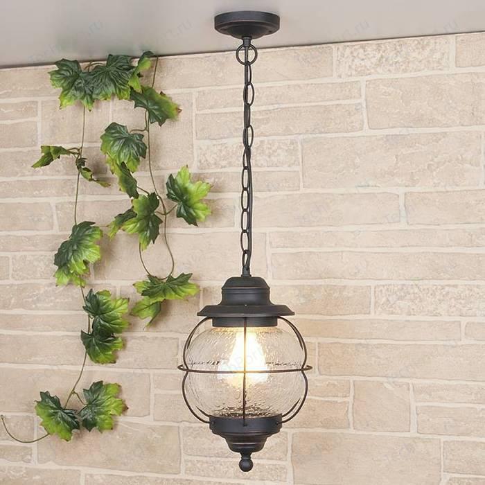 Уличный подвесной светильник Elektrostandard 4690389064999