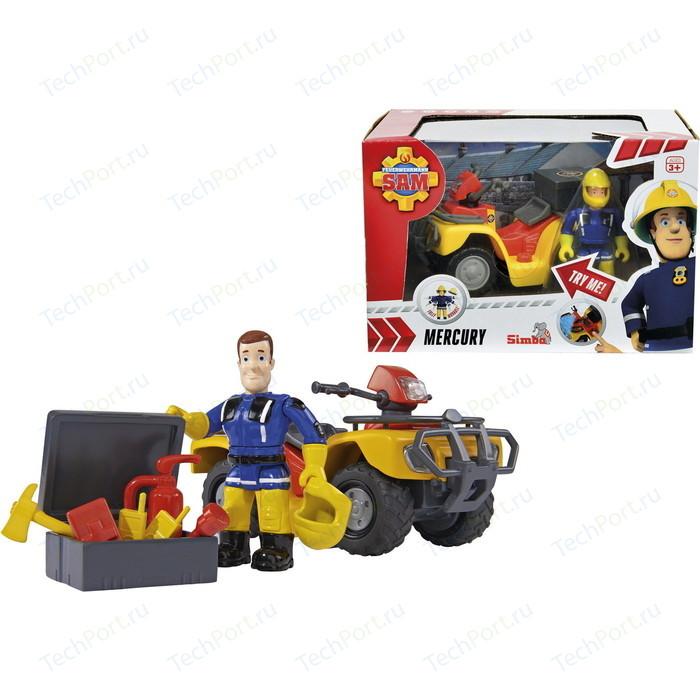 Игровая фигурка Simba Пожарный Сэм и квадроцикл со светом*