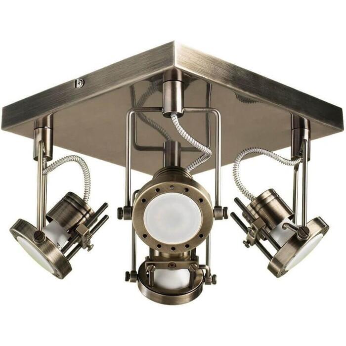 Спот Arte Lamp A4300PL-4AB недорого