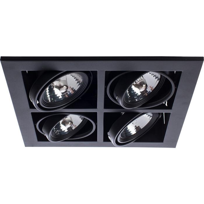 Встраиваемый светильник Arte Lamp A5930PL-4BK