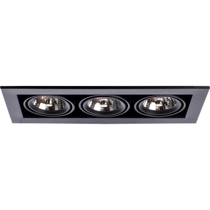 Встраиваемый светильник Arte Lamp A5930PL-3BK