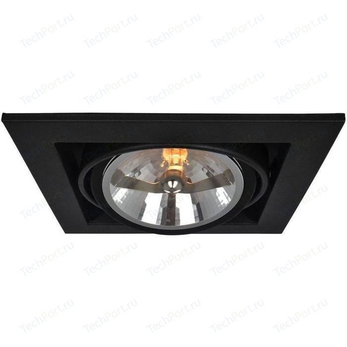 Встраиваемый светильник Arte Lamp A5935PL-1BK