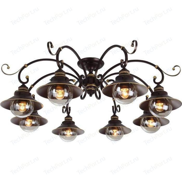 Потолочная люстра Arte Lamp A4577PL-8CK потолочная люстра arte lamp a4577pl 8ck