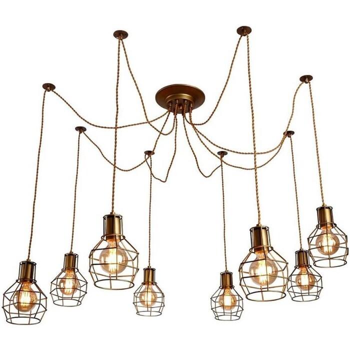 Подвесная люстра Arte Lamp A9182SP-8BZ