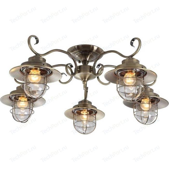 Потолочная люстра Arte Lamp A4579PL-5AB люстра arte lamp a5603lm 5ab verdi