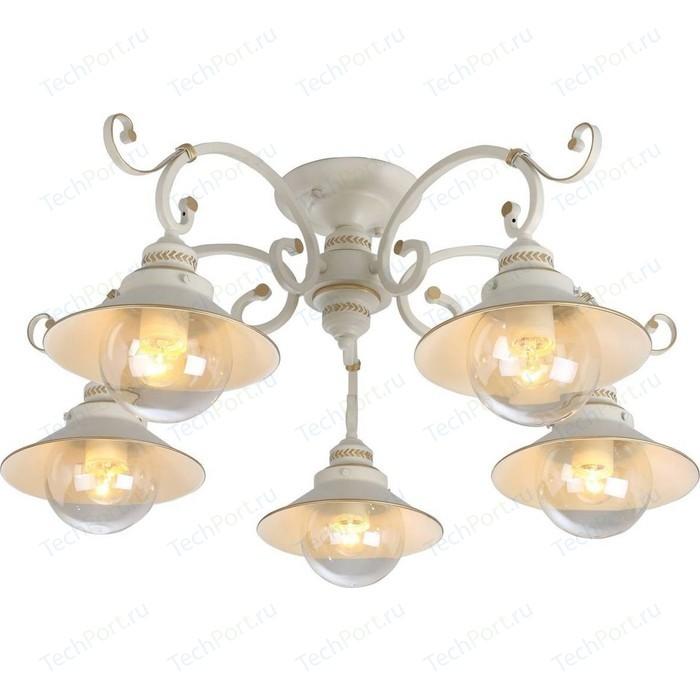 Фото - Потолочная люстра Arte Lamp A4577PL-5WG люстра потолочная arte lamp gelo a6001pl 9bk