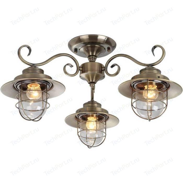 Потолочная люстра Arte Lamp A4579PL-3AB