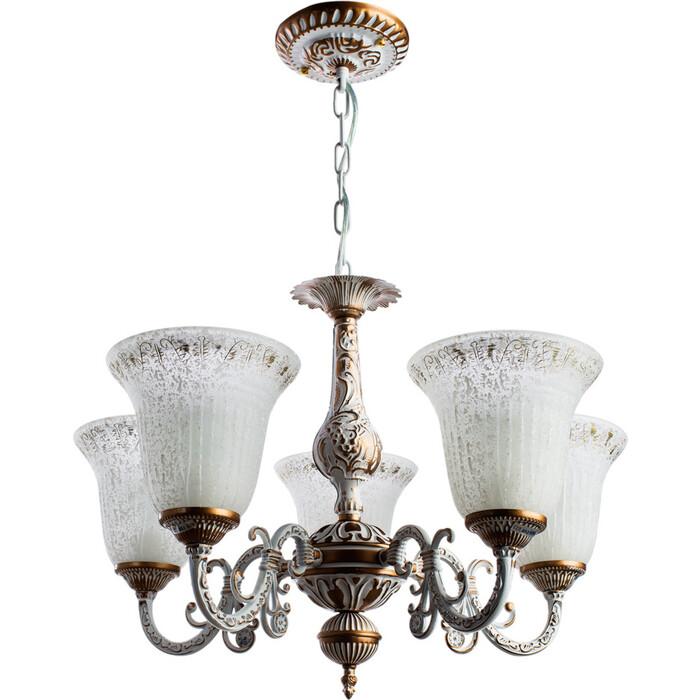 Подвесная люстра Arte Lamp A1032LM-5WG люстра подвесная на цепи arte lamp a6114lm 5wg