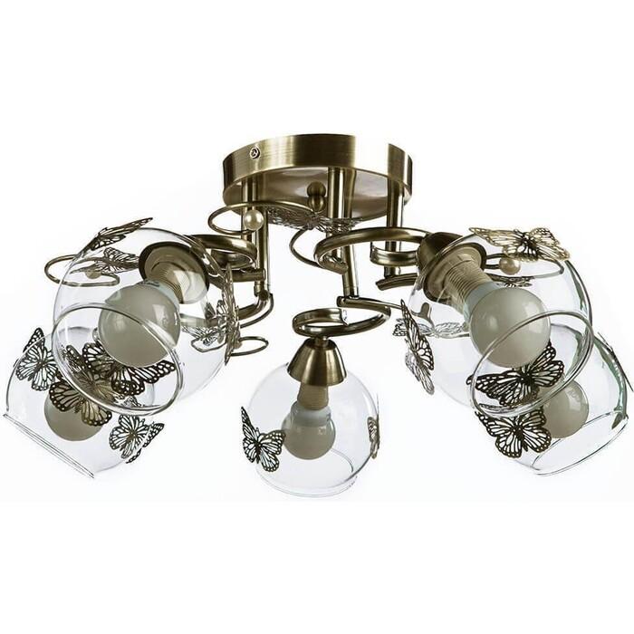 Потолочная люстра Arte Lamp A5004PL-5AB