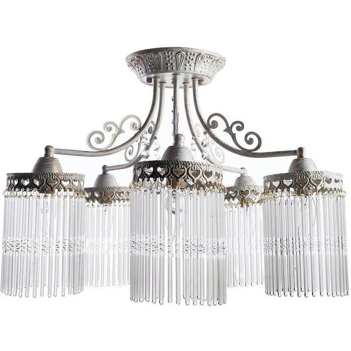 Потолочная люстра Arte Lamp A1678PL-5WG люстра подвесная на цепи arte lamp a6114lm 5wg
