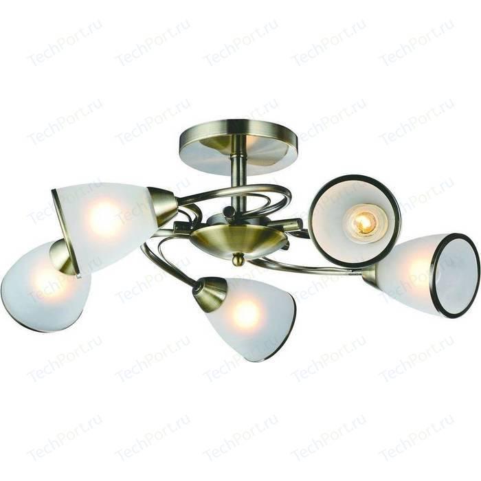 Потолочная люстра Arte Lamp A6056PL-5AB люстра arte lamp a5603lm 5ab verdi
