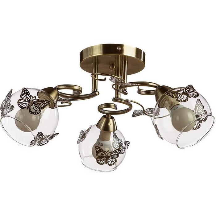 Потолочная люстра Arte Lamp A5004PL-3AB