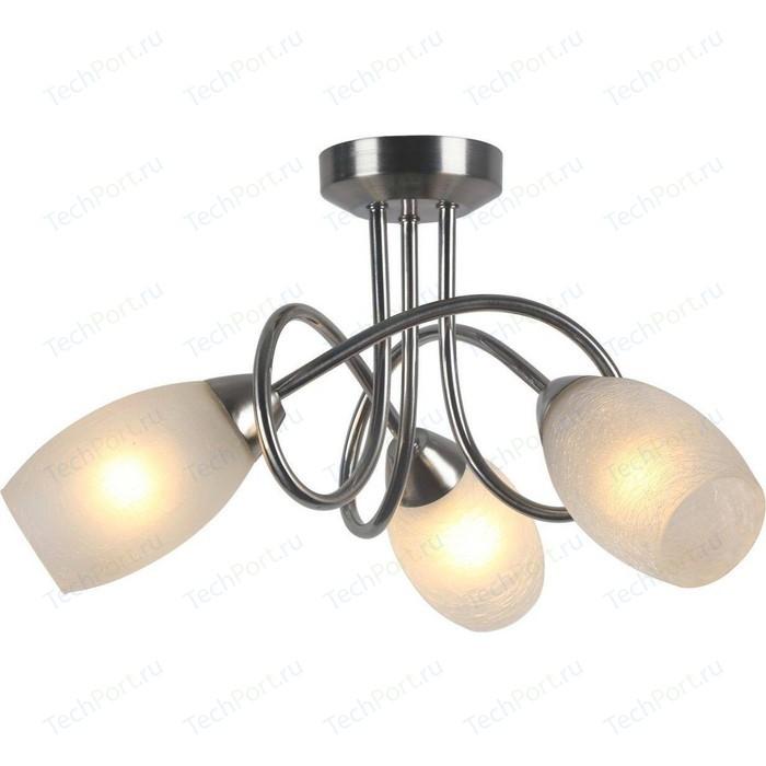 Фото - Потолочная люстра Arte Lamp A8616PL-3SS люстра потолочная arte lamp gelo a6001pl 9bk