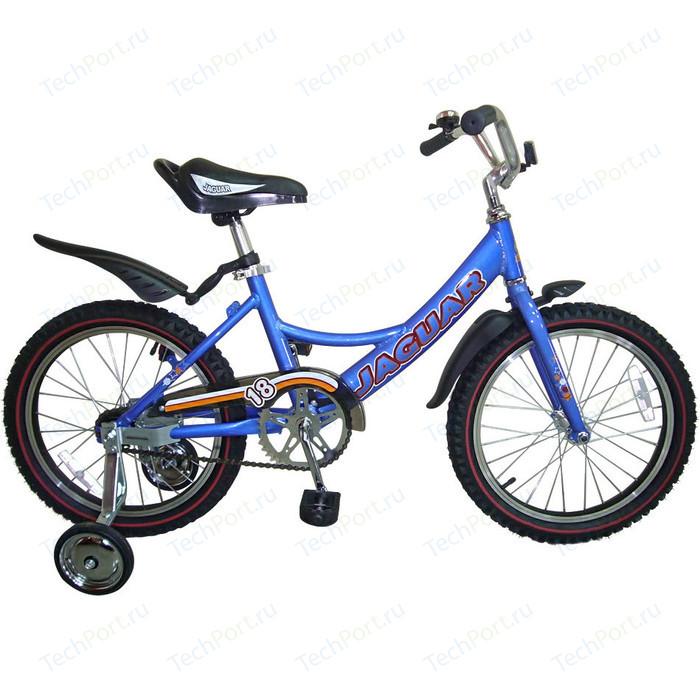 Велосипед 2-х колесный Jaguar MS-A182 Alu синий гироскутеры carwalk оригинальный гироскутер carwalk transformer размер колеса 8 дюймов
