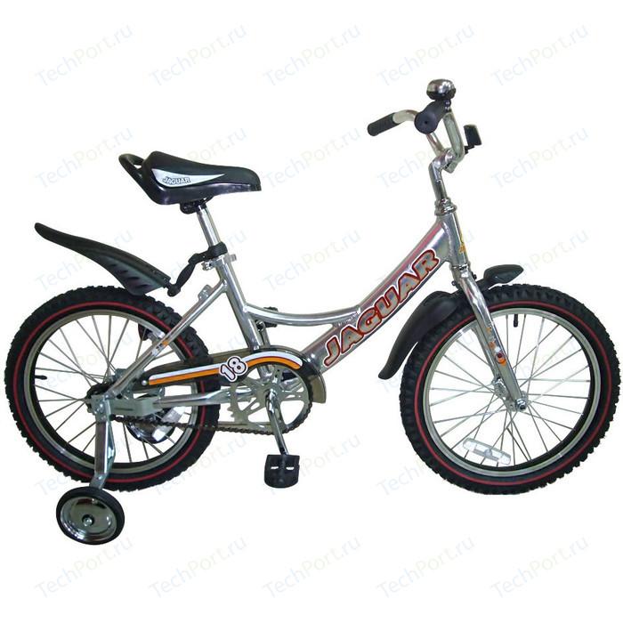 Велосипед 2-х колесный Jaguar MS-A182 Alu серебро гироскутеры carwalk оригинальный гироскутер carwalk transformer размер колеса 8 дюймов