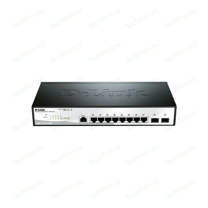 Коммутатор D-Link DGS-1210-10/ME/A1A коммутатор d link dgs 1100 10 me a