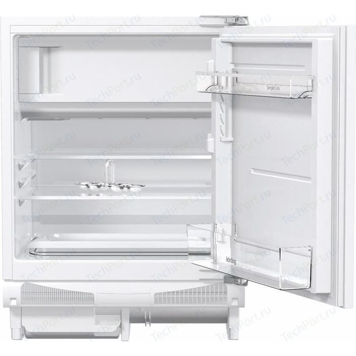 Встраиваемый холодильник Korting KSI 8256 встраиваемый однокамерный холодильник korting ksi 8256