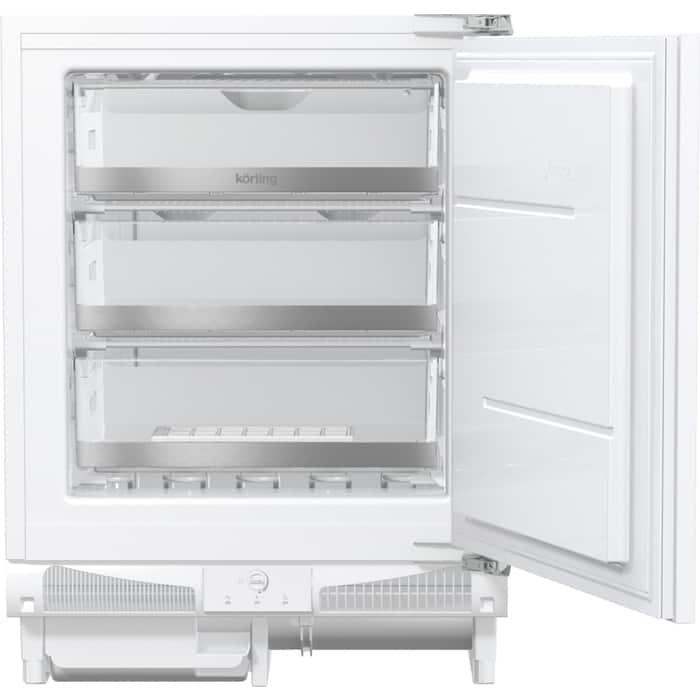 Встраиваемый морозильник Korting KSI 8259 F встраиваемый однокамерный холодильник korting ksi 8256
