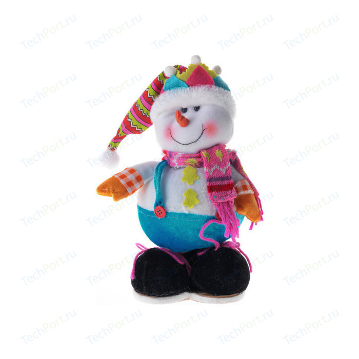 Сувенир Snowmen Дед мороз/снеговик 28см (Е92110)