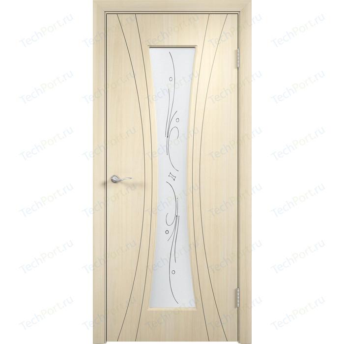 Фото - Дверь VERDA Богемия остекленная 2000х700 ПВХ Дуб белёный дверь eldorf берлин 1 остекленная 2000х700 экошпон дуб табак