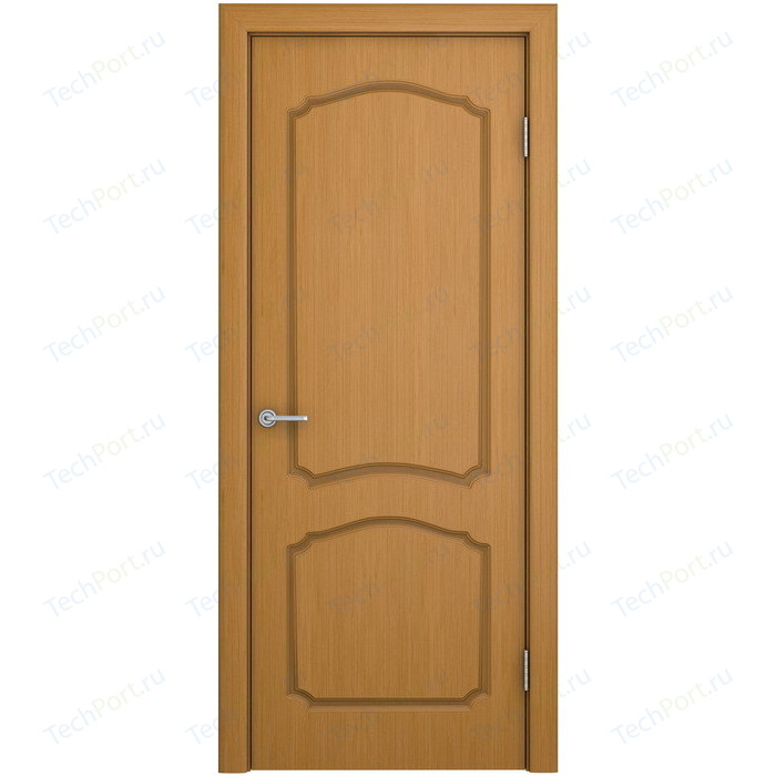 Дверь VERDA Каролина глухая 1900х550 шпон Дуб