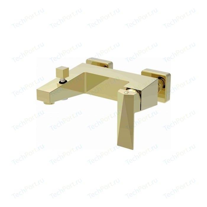 Смеситель для ванны Bravat Iceberg золото (F676110G-01)