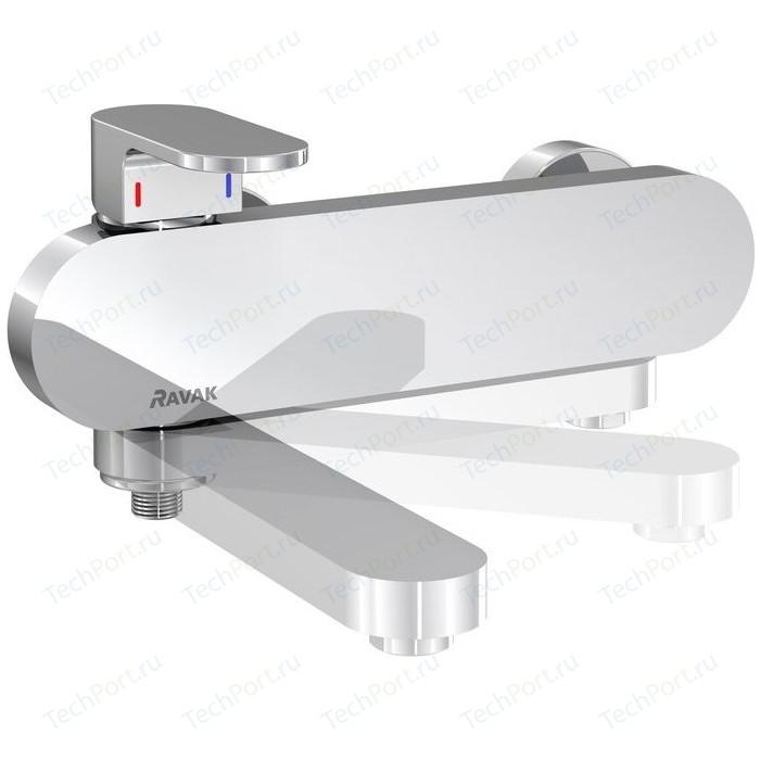 Смеситель для ванны Ravak Chrome CR 022.00/150 (X070042) смеситель на борт ванны ravak chrome cr 025 00 на 4 отверстия каскадный x070073