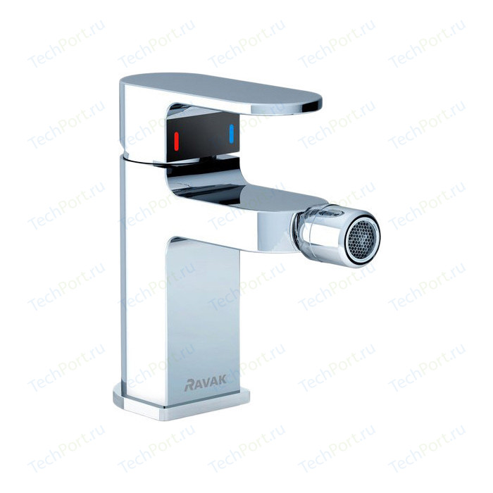 Смеситель для биде Ravak Chrome CR 055.00 с донным клапаном (X070055)