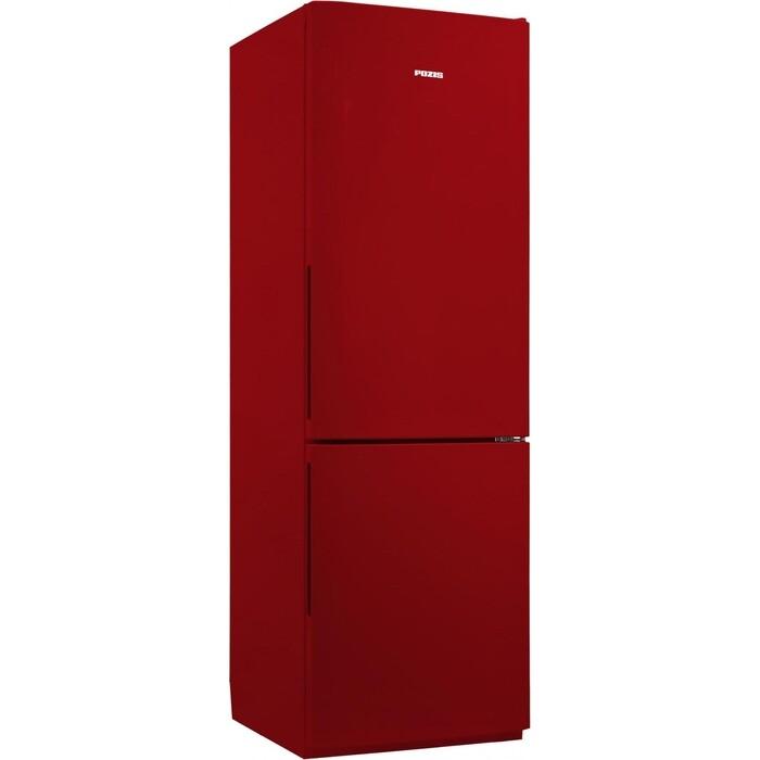 Холодильник Pozis RK FNF-170 рубиновый ручки вертикальные