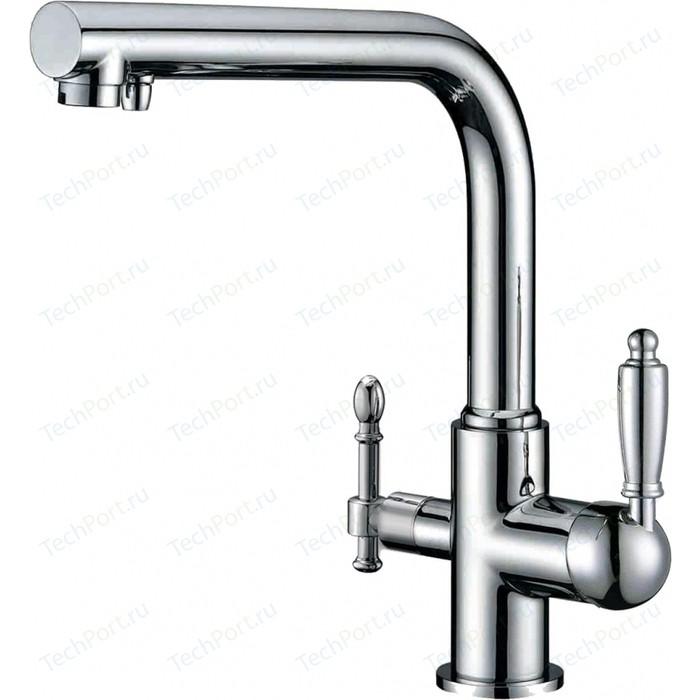 Смеситель для кухни ZorG Clean Water под фильтр, хром (ZR 313 YF-33)