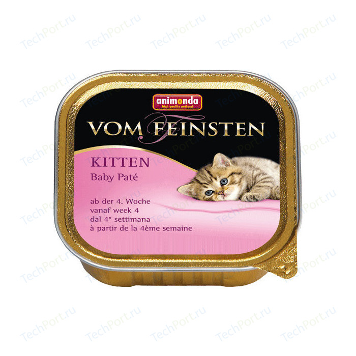 Консервы Animonda Vom Feinsten Baby-Pate паштет для котят 100г (83436)