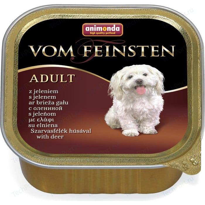 Консервы Animonda Vom Feinsten Adult с олениной для собак 150г (82979)