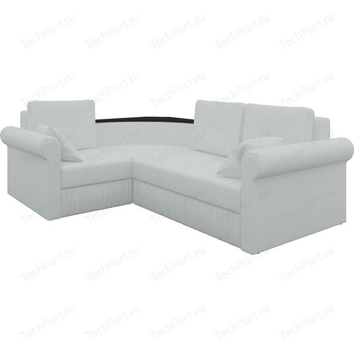 Угловой диван Мебелико Юта-2 левый, весь - Легенда белый