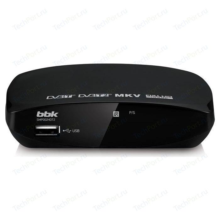 Тюнер DVB-T2 BBK SMP002HDT2 black