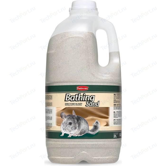 Наполнитель Padovan BATHING Sand песок для купания шиншилл 2л