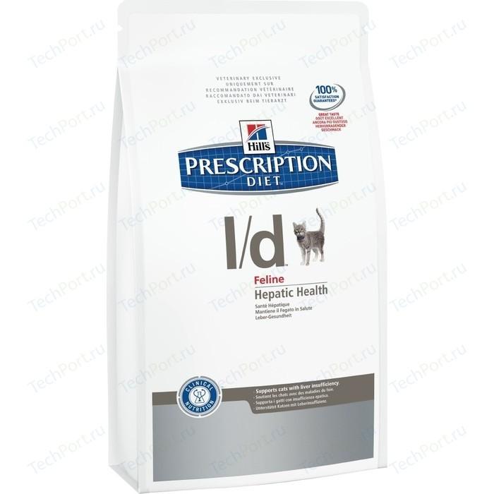Сухой корм Hills Prescription Diet l/d Feline Hepatic Health диета при лечении заболеваний печени для кошек 1,5кг (8695)