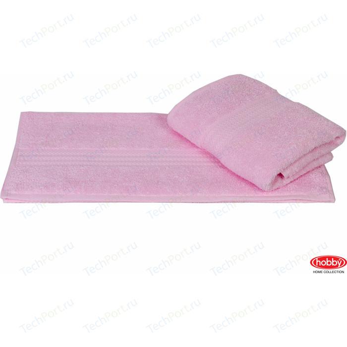 цена Полотенце Hobby home collection Rainbow 70x140 см светло-розовый (1501000570) онлайн в 2017 году