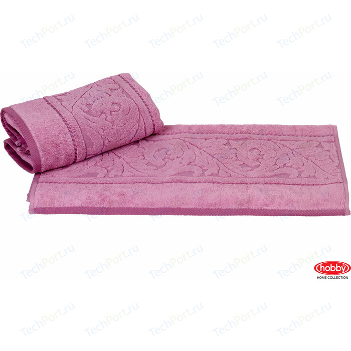 цена Полотенце Hobby home collection Sultan 70x140 см розовый (1501000596) онлайн в 2017 году