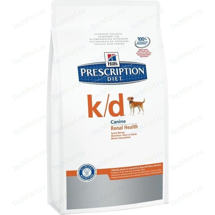 Сухой корм Hills Prescription Diet k/d Kidney Care with Chicken с курицей диета при лечении заболеваний почек и МКБ для собак 2кг (8658)