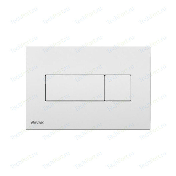 Кнопка смыва Ravak Uni (X01457) белая кнопка смыва ravak uni x01457 белая