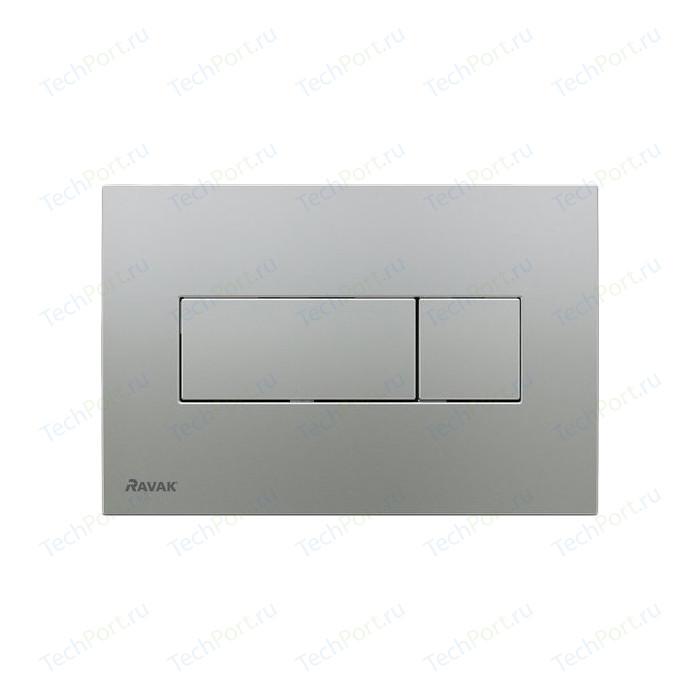 Кнопка смыва Ravak Uni (X01456) сатин кнопка смыва ravak uni x01457 белая
