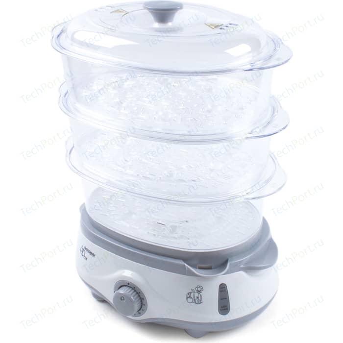 Пароварка Endever Vita-170 белый/серый