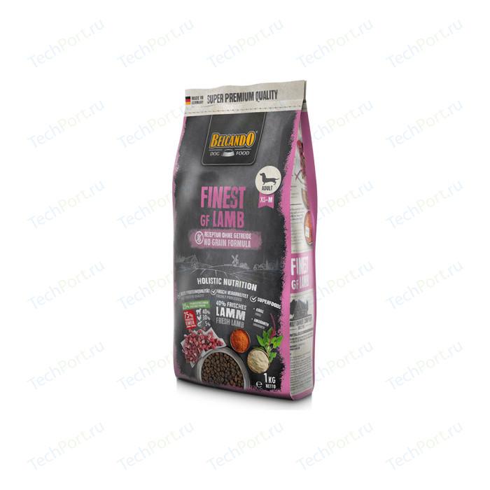 Сухой корм Belcando Finest Grain-Free Lamb беззерновой с ягненком для собак мелких и средних пород склонных к аллергии 1кг (556405)