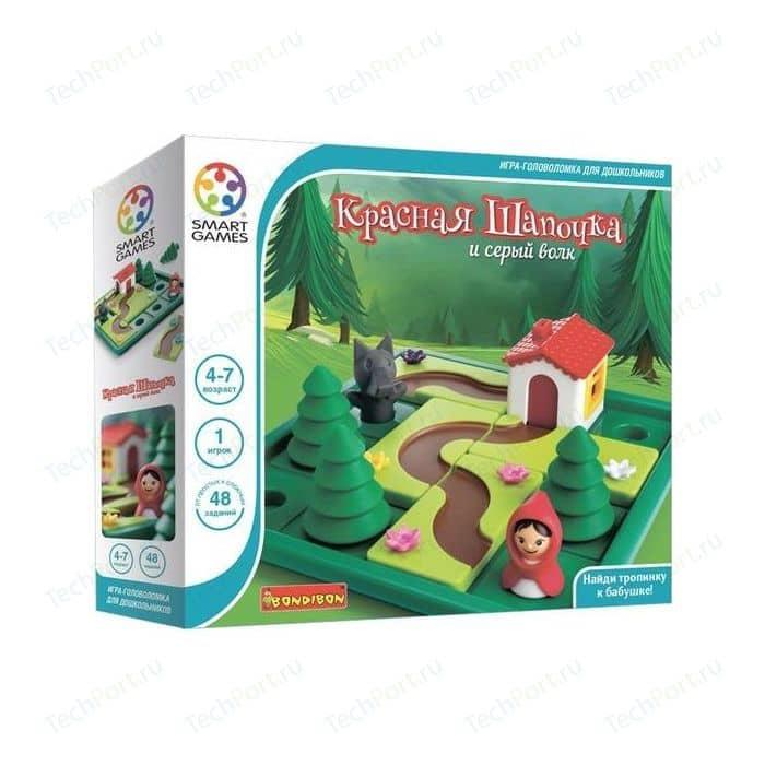 Bondibon Логическая игра Красная Шапочка и серый волк (ВВ1879)