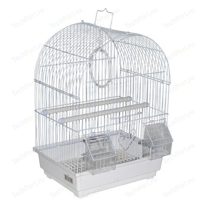 Клетка KREDO A100 из окрашенной проволоки в подарочной упаковке для птиц
