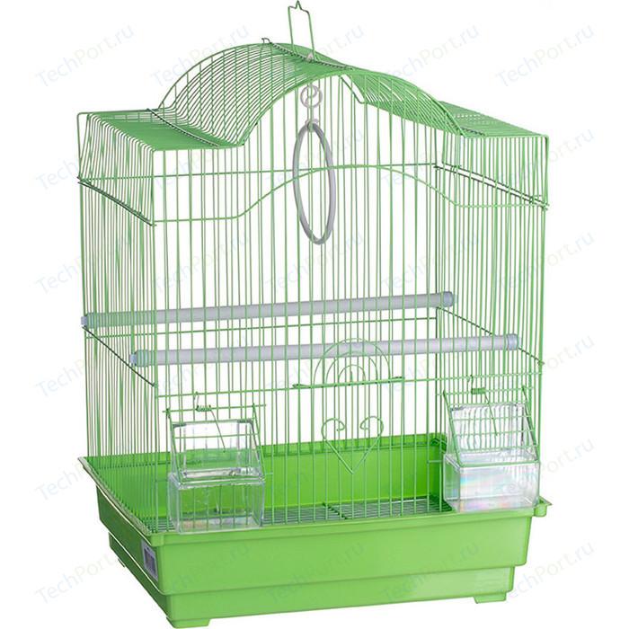 Клетка KREDO A113 из из окрашенной проволоки в подарочной упаковке для птиц