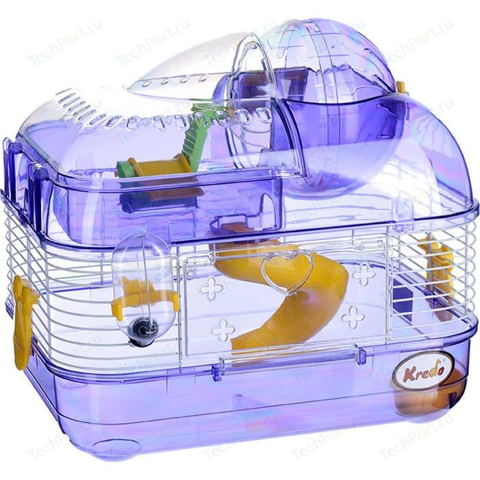 Клетка KREDO М01 из окрашенной проволоки со счетчиком в подарочной упаковке для хомяков