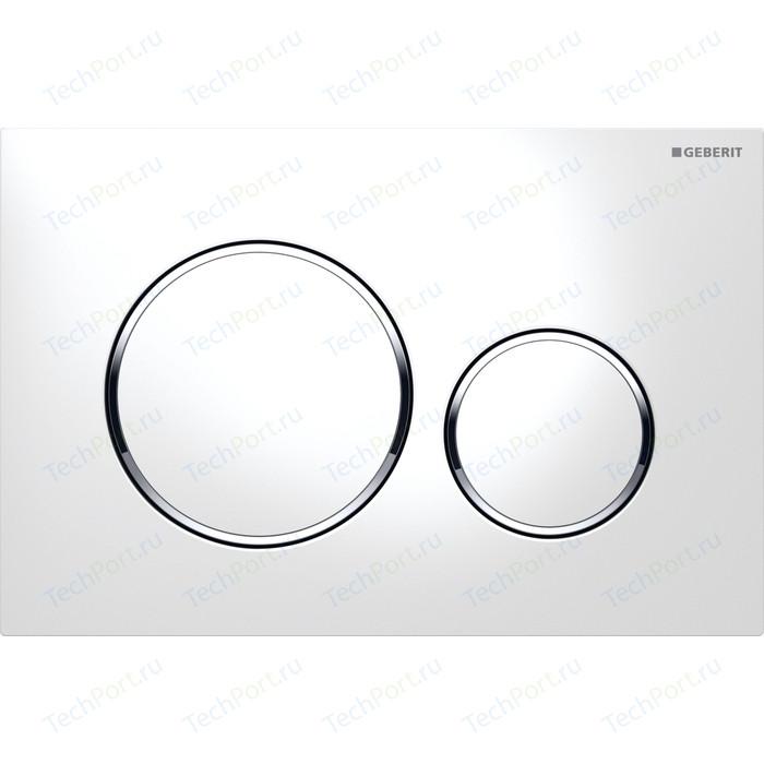 Кнопка смыва Geberit Sigma 20 белый/хром (115.882.KJ.1) клавиша смыва geberit sigma 10 115 758 kj 5